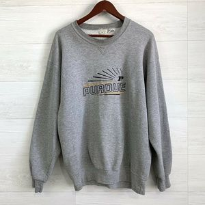 VTG Purdue Boilermakers Embroidered Sweater